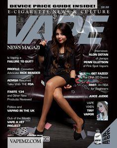 VAPE News Magazine | E-Cigarette News and Culture [ Vapor-Hub.com ] #VaporHub #vape #vapor