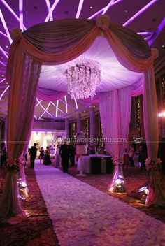 Decoration by ; Located in Bali Room, Kempinski Hotel - Jakarta ; Lighting by Lightworks
