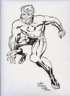 Cap'n's Comics: S'more Lightray by Jack Kirby