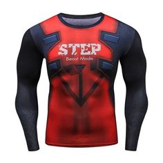ZRCE T Shirt Men Women 3d Printer Fashion Funny T shirts Plus Size Long Compression Shirt Bodybuilding Brand Clothing RashGuard - Exexem