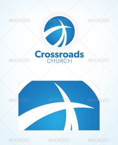 Modern Church Logo  #GraphicRiver         This affordable church logo template was designed with contemporary church ministries and Christian organizations in mind.