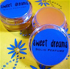 NEW Sweet Dreams Patchouli Solid Perfume All by daisycakessoap, 4.00usd
