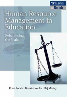 Human Resource Management in Education eBook http://myafrikaans.com/unisa-ebooks/human-resource-management-in-education.html