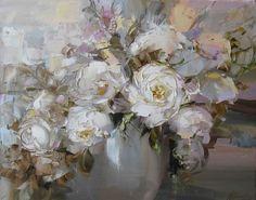 Abstract Rose by Russian artist, Oksana Kravchenko (1971) Russia, Novouralsk