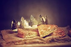 galette des rois - Buy this stock photo and explore similar images at Adobe Stock Valentines Day Cards Diy, Diy Cards, Stock Photos, Stuff To Buy, Image, King Cakes, Cards Diy, Homemade Cards