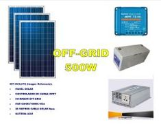 Kit Energía Solar Off Grid 600W Full Off The Grid, Kit, Off Grid