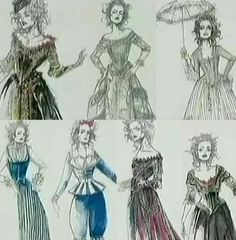 Colleen's costume designs