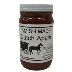 Amish Jam Rhubarb - 8 Oz Set of Three Jars: 20 Great Flavors to Choose From - Amish Jam - 8 Oz Set of 4 Jars Ing: Sugar, rhubarb & Pectin Gourmet Gifts, Food Gifts, Gourmet Recipes, Jar Of Jam, Dutch Apple, Fruit Jam, Amish, Preserves, Nutella