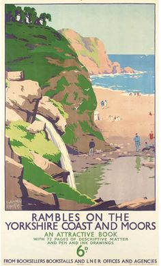 Rambles on the Yorkshire Coast and Moors - LNER - 1940's - (Herbert Tripp).17