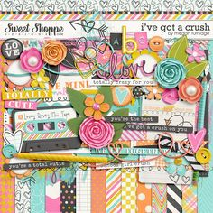 I've Got a Crush by Megan Turnidge Sweet Shoppe Designs