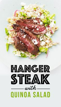 Hanger Steak With Spring Quinoa Salad | 7 Easy Dinners To Make This ...