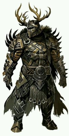 Dekür in Rüstung (Guild Wars 2 C. Fantasy Armor, Medieval Fantasy, Dark Fantasy, Armadura Medieval, Guild Wars 2, Dungeons And Dragons Characters, Fantasy Characters, Fantasy Character Design, Character Art