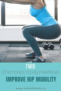 2 Stretches to Help Improve Hip Mobility - Venus Fitness and Lifestyle Lower Back Stiffness, Iliotibial Band Syndrome, Runners Knee, Tight Shoulders, Hip Mobility, Pigeon Pose, Knee Pain, Post Workout, Back Pain