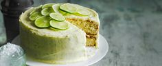 Soak light and airy sponges in a mojito-infused sugar syrup, then cover with a zingy lime buttercream. Our mojito cake is an absolute stunner! Recipe created by olive reader Joanne Middleton.