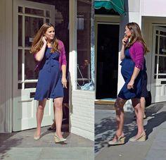 #KateMiddleton spotted in her #ASOS #maternity dress. http://asos.to/16WVJ6H
