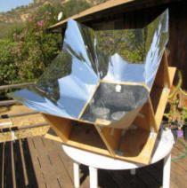 Solar ovens...
