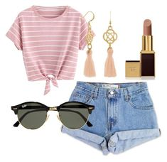 """""""Untitled #10"""" by amjones17 on Polyvore featuring Levi's, Ray-Ban and Tom Ford"""