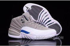 e00f920ed54b8 2016 Air Jordan 12 Wolf Grey White Blue Discount. Jordan SneakersCheap  SneakersNike SneakersConverse ShoesCheap ...