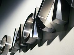 Metal Business Logo Sign - Advertising Office in Baltimore by impactsigns.com, via Flickr