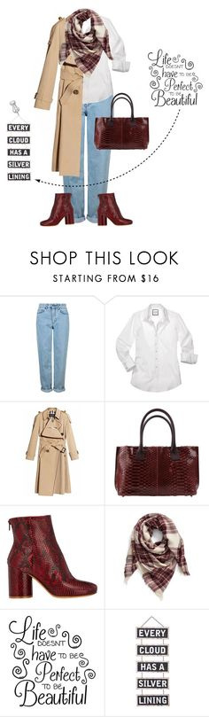 """""""Life"""" by outfitsloveyou ❤ liked on Polyvore featuring Topshop, Burberry, Brunello Cucinelli, Maison Margiela, BP. and Silver Lining"""