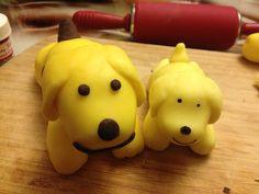Fondant Spot dogs