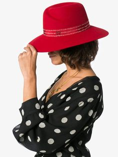 4d2415c0e52a Maison Michel Virginie hat affiliatelink Felt Hat