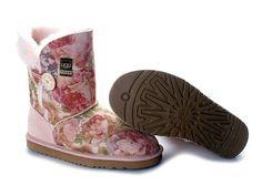 pink floral ugg boots