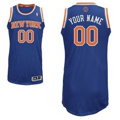 824bb993e Adidas New York Knicks Custom Authentic Road Jersey  Knicks