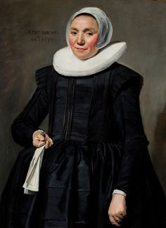 Frans Hals, A Portrait of a Woman Holding a Pair of Gloves (1637). Courtesy of Johnny Van Haeften Old Master Paintings, London.