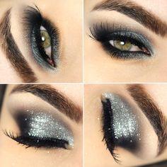 Tutorial – smokey eyes prata e preto!