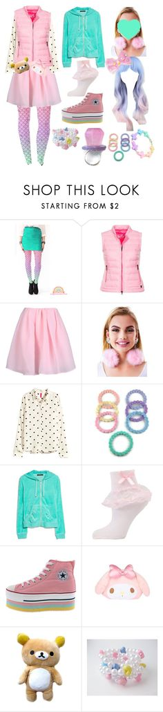 """Fall Fairy Kei"" by angeldolls ❤ liked on Polyvore featuring Cotton Candy, Add, Carven, Vox Populi, H&M, MANGO, Hello Kitty and fairykei"