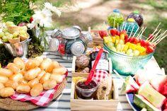 ornamentação de picnic - Pesquisa Google