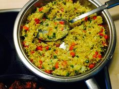 African Vegetable Curry Rice is another of east Africa`s yummy delicacy much like the Asian fried rice but a bit more spicy. Curry Rice, Vegetable Curry, East Africa, Fried Rice, Guacamole, Spicy, African, Vegetables, Ethnic Recipes