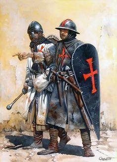 Рыцарь и сержант.