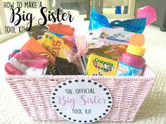 How To Make a Big Sister Tool Kit | The Momerie