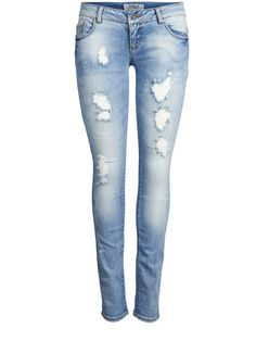 15085373 coral super low sk jeans