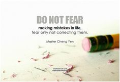 Do not fear making mistakes in life, fear only not correcting them. Insirational Quotes, Daily Quotes, Motivational Quotes, Making Mistakes, Leadership Values, Remember Quotes, How To Motivate Employees, Learning Quotes, Frases