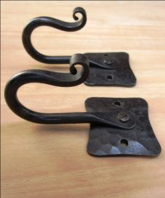 HAND FORGED HOOKS