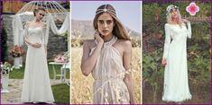Svadobné šaty v rustikálnom štýle - obľúbené modely a štýly 2016 s fotografiami