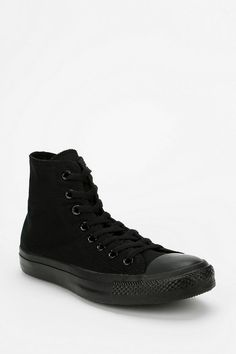 only one of my favorite shoes....Converse Chuck Taylor All Star Tonal High-Top Sneaker in all black