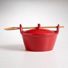One of my favorite discoveries at WorldMarket.com: Red Potluck Baker