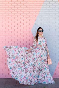 Style Charade Yumi Kim Floral Dress