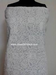 1924c53feeb9 Buy Chikankari Kurta Fabric with Jaali Work Designer Wear