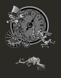 Mad Hatter Tee – T-Shirt by Night Owl Ink