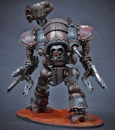 40k - Converted Knight Magaera by Marius
