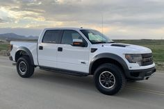 For Sale: 2013 Ford F-150 SVT Raptor (Oxford White, 6.2L V8, 6-speed auto, 1600 miles) Karmann Ghia For Sale, Volkswagen Karmann Ghia, Svt Raptor, 2013 Ford Raptor, Thing 1, Oxford White, Lifted Ford Trucks, Bugatti Veyron, Land Rover Defender