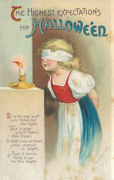 Cute Halloween Postcard