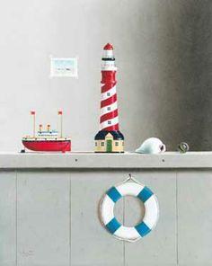 Leo Pors oil 'Still Life with Toys'
