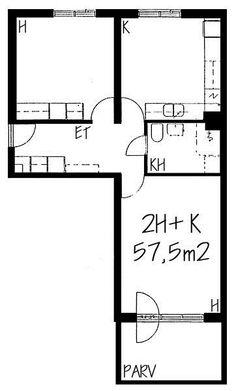 Palkkatilankatu, Länsi-Pasila, Helsinki, 2h+k 57,5 m², SATO vuokra-asunto