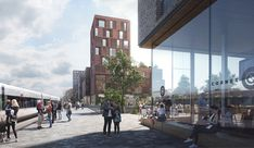 Gallery of EFFEKT & karres+brands Win Competition to Transform Industrial Wasteland Into Vibrant Urban District in Roskilde - 2